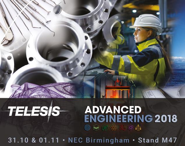 Advanced Engineering 2018 | Stand M47 | 31.10 & 01.11, 2018 | NEC, Birmingham