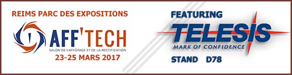 Aff'Tech 2017 | Stand D78 | March 23 - 25, 2017 | Reims, France