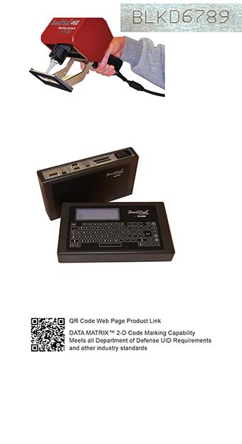 BM460 Hand Held Portable Dot Peen Marking System