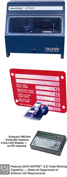 Data Plate Printer