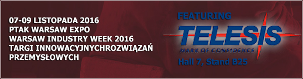 Warsaw Industry Week 2016 | Hall 7, Stand B25 | November 07 - 09, 2016 | Warsaw, Poland