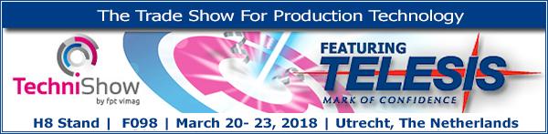 Technishow 2018 | H8 Stand F098 | March 20- 23, 2018 | Utrecht, The Netherlands