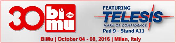30.BiMu | October 04 - 08, 2016 | Milan, Italy