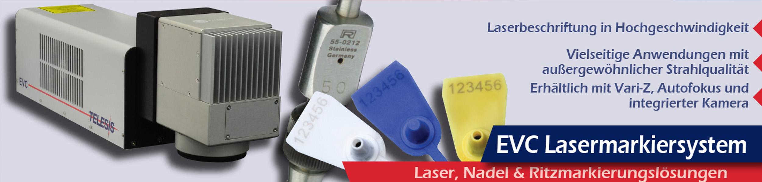 EVC Vanadate Lasermarkierer