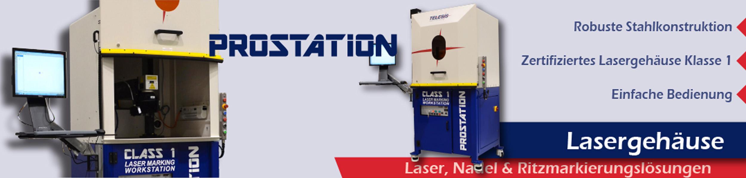 ProStation Laser Arbeitsplatz - Laserschutzklasse 1