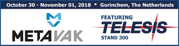 METAVAK GO 20 | Stand 300 | October 30 - November 01, 2018 | Brno, Gorinchem, The Netherlands