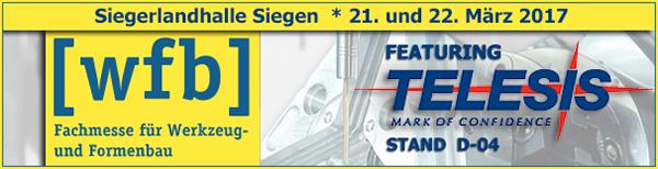 WFB Siegen 2017 | Stand D-04 | March 21 - 22, 2017 | Siegen / NRW, Germany